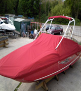 Overall Boat Storage Cover in Canvas